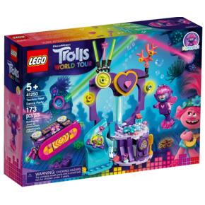 LEGO Trolls World Tour Impreza techno na rafie 41250